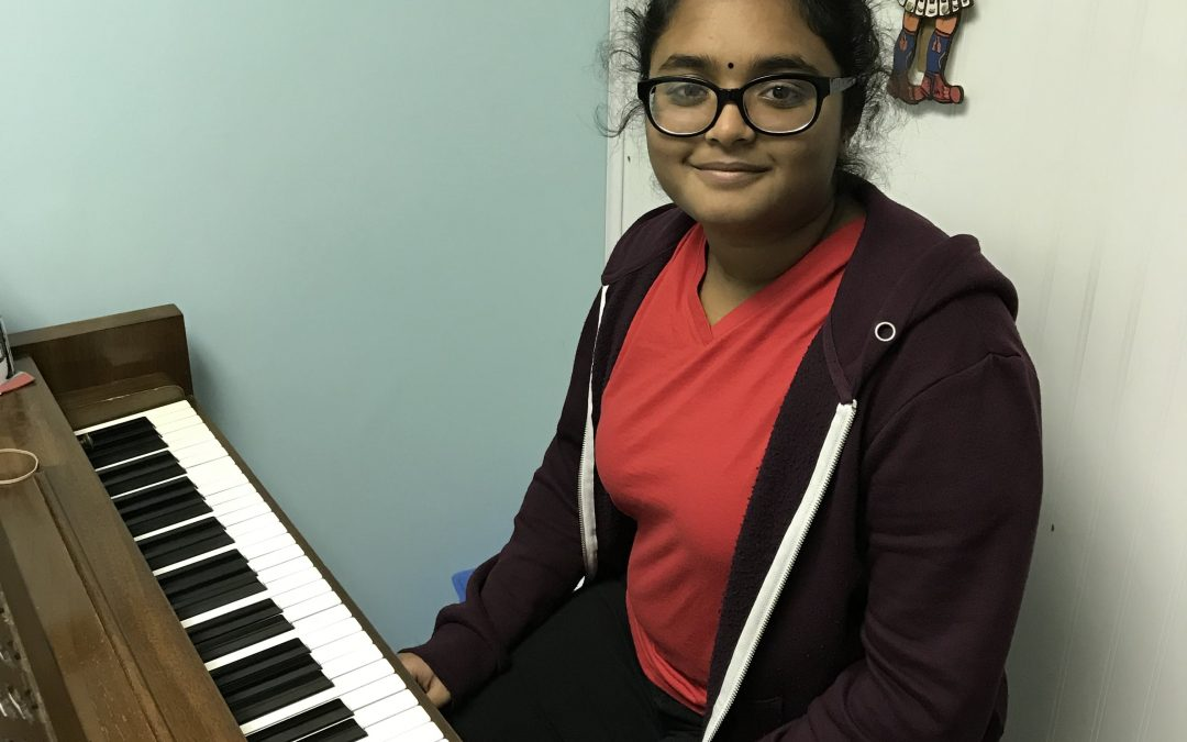 Anavi Nimmagadda, Featured Student 12/3